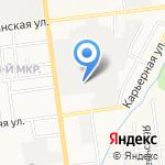 Компания Бином на карте Южно-Сахалинска