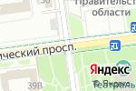 Схема проезда до компании ФинЭК в Южно-Сахалинске