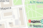 Схема проезда до компании Рыбак Сахалина в Южно-Сахалинске