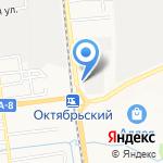 Подорожник на карте Южно-Сахалинска