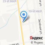 Безопасный транспорт на карте Южно-Сахалинска