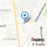 Тара плюс на карте Южно-Сахалинска
