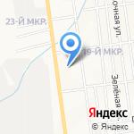 Баловень на карте Южно-Сахалинска