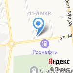 Снабженец на карте Южно-Сахалинска