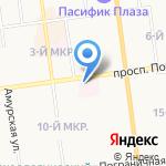 Стационар МСЧ УФСБ России по Сахалинской области на карте Южно-Сахалинска