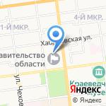Министерство финансов Сахалинской области на карте Южно-Сахалинска