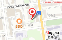 Схема проезда до компании Титул в Южно-Сахалинске