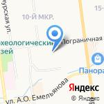 Единая Служба Такси на карте Южно-Сахалинска