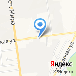 У`Дачник на карте Южно-Сахалинска
