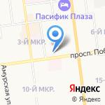 Российский экономический университет им. Г.В. Плеханова на карте Южно-Сахалинска
