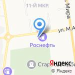 Лимко на карте Южно-Сахалинска