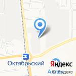 Федоровка на карте Южно-Сахалинска