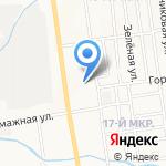 Пятёрочка на карте Южно-Сахалинска