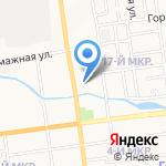 Элрид на карте Южно-Сахалинска