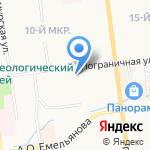 Гранит Сервис на карте Южно-Сахалинска