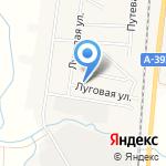 Егорка на карте Южно-Сахалинска