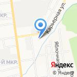 АВТОСФЕРА на карте Южно-Сахалинска