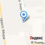 Коба+ на карте Южно-Сахалинска