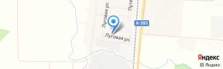 Егорка на карте Старорусского