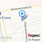 Горка на карте Южно-Сахалинска