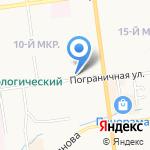 Православная воскресная школа на карте Южно-Сахалинска