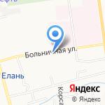 Шина сервис на карте Южно-Сахалинска