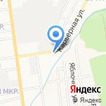 Мастер-С на карте Южно-Сахалинска