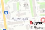 Схема проезда до компании Ника в Южно-Сахалинске