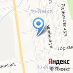 Алис на карте Южно-Сахалинска