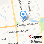 AVON на карте Южно-Сахалинска