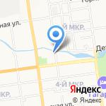Центр государственного санитарно-эпидемиологического надзора МСЧ УВД Сахалинской области на карте Южно-Сахалинска