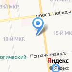 Детский областной многопрофильный санаторий на карте Южно-Сахалинска