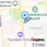 Office-portal на карте Южно-Сахалинска