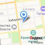 ТрактирЪ на Хабаровской на карте Южно-Сахалинска