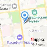 Стройзаказчик-Сервис на карте Южно-Сахалинска