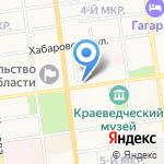 Арбитражный суд Сахалинской области на карте Южно-Сахалинска