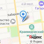 Сахалинский театр кукол на карте Южно-Сахалинска