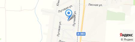 Соколовский на карте Старорусского