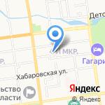 Лайк Хостел Южно-Сахалинск на карте Южно-Сахалинска