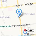 Адвокатский кабинет Павленко А.А. на карте Южно-Сахалинска