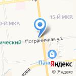 Городской информационно-аналитический центр на карте Южно-Сахалинска