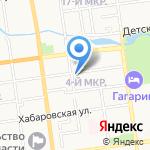 Нео Денталь на карте Южно-Сахалинска