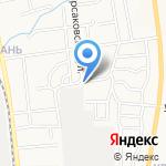 Большая Елань на карте Южно-Сахалинска
