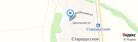 Этюд на карте Старорусского