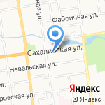 Центральная коллегия адвокатов на карте Южно-Сахалинска