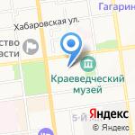 Корус строй на карте Южно-Сахалинска