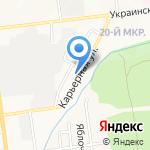 Римейк-Сухофрукты на карте Южно-Сахалинска