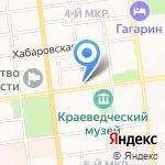 Южно-Сахалинский городской суд на карте Южно-Сахалинска