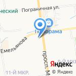 АР НУВО на карте Южно-Сахалинска