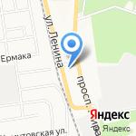 ПИТ СТОП 65 на карте Южно-Сахалинска